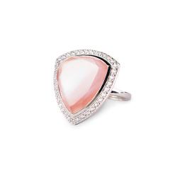 MARC红粉佳人珍珠母贝戒指  货号110376