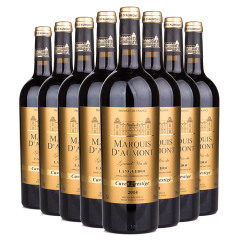 法国奥蒙侯爵干红葡萄酒套组 货号117751