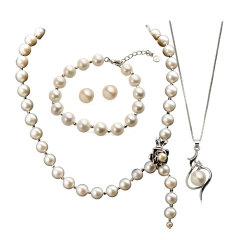 蒂贝诗淡水珍珠5件组  货号118696