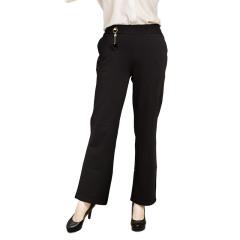 DS黑色经典高弹直筒裤  货号122025