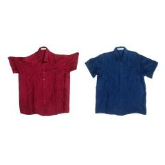 JANCYBONY男士真丝衬衫两件组  货号122656