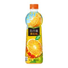 美汁源 Minute Maid 果粒橙 橙汁 果汁饮料 420ml*12瓶