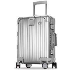 利马赫/liemoch爱顿系列铝镁合金拉杆箱万向轮商务行李旅行箱