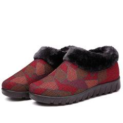 2020冬季中老年妈妈鞋加厚棉鞋老北京布鞋防滑耐磨健步鞋