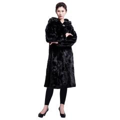 今昇长款整貂大衣双11独供  货号124430