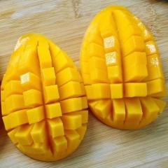 正宗缅甸圣德龙芒果钻石果5斤 进口新鲜水果芒果之王