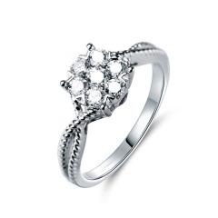 梦思芭克璀璨星光钻石戒指