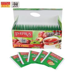 斯里兰卡原装进口 IMPRA 英伯伦苹果味调味茶(2g*30袋)60g