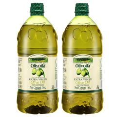欧丽薇兰特级初榨橄榄油1.6L凉拌沙拉炒菜榄橄油