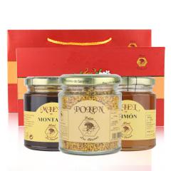 西班牙原装进口布罗家族精装礼盒高山+柠檬+蜂花粉三瓶装
