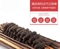 大连鑫玉龙淡干海参 50g 10-12支 简装 一级品