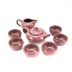 鼎匠冰裂茶具套装8件套 功夫茶杯陶瓷 茶具茶杯茶壶干泡套装日式简约