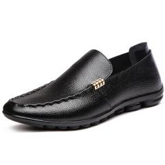 俊斯特四季爆款豆豆鞋驾车鞋舒适休闲鞋子真皮鞋男鞋