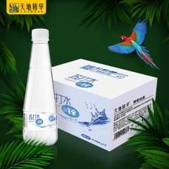 天地精华加锌苏打水饮料整箱无糖无汽批发碱性饮用水410ml*15瓶