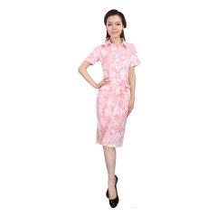 J.K印花腰带连身裙 货号109395