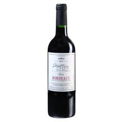 法国原装进口AOC级巴图波尔多干红葡萄酒单支装