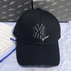 帽子男女n-y 鸭舌帽金标洋基队帽子 时尚潮牌棒球帽