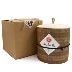 瓯叶 大红袍茶叶 武夷岩茶茶叶 乌龙茶 600克/桶 礼盒装