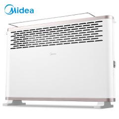 美的 取暖器电暖器电暖气家用居浴两用浴室防水电热炉欧式快热炉