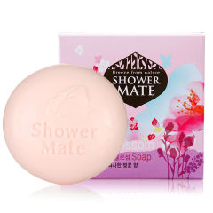 韩国原装进口爱敬玫瑰樱花香皂100g
