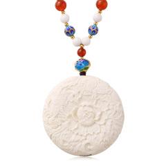 工美珠宝盛世牡丹猛犸象牙特供