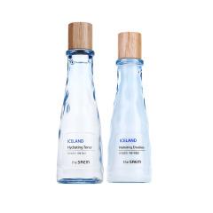韩国进口 得鲜The Saem冰岛保湿补水爽肤水保湿乳