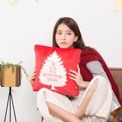 北欧家居按摩枕 智能按摩女性加热缓解痛经暖手自动多功能腹部按摩抱枕