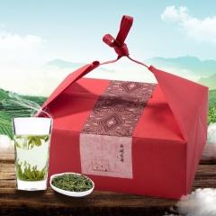 瓯叶绿茶 2017年明前特级西湖龙井首发 春茶 100g 【买2袋送礼盒包装】