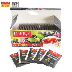 斯里兰卡原装进口 IMPRA 英伯伦黑莓味调味茶(2g*30袋)60g