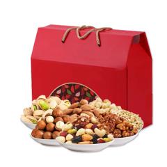 边走边淘 美味坚果礼盒(7种一级果)  包邮