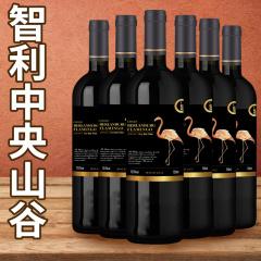 智利进口火烈鸟干红葡萄酒中央山谷产区红酒单支750ML