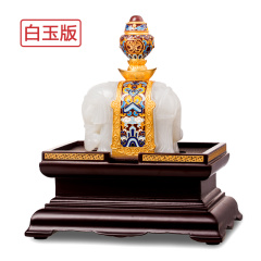 宫廷玉器《太和宝象》白玉版
