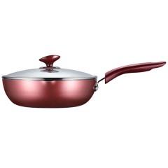 苏泊尔火红点深型煎锅煎炒两用不粘锅PJ26R4