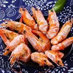 采小海虾干海鲜干货即食特级大号烤虾对虾香烤虾休闲零食罐装100g
