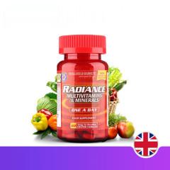英国HB 荷柏瑞红颜全营养片60片 补血补铁