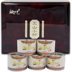 瓯叶红茶 武夷山桐木关正山小种 小种红茶 80克/罐*5 礼盒装