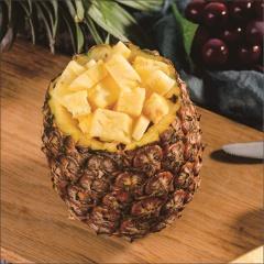西双版纳金钻凤梨无眼菠萝新鲜当季水果现摘20斤