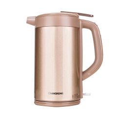 长虹麦饭石保温电热水壶1+1