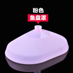 美之扣 硅胶菜罩防尘盖碗盘 微波炉专用加热子 冰箱保鲜 双色可选 保鲜盒 椭圆原色