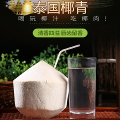【进口水果】泰国进口 椰青 2颗(单果900-1100g)