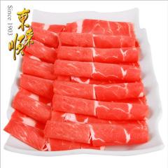 东来顺 鲜美肥牛外脊切片350g*2 火锅食材 内蒙古清真牛肉卷牛肉片