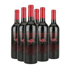 澳大利亚原瓶进口高庭袋鼠干红葡萄酒 750ml*6