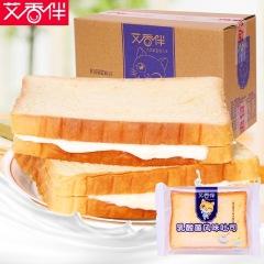 三惠 艾香伴乳酸菌夹心吐司面包680g/箱