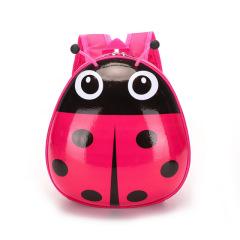 甲壳虫小童背包瓢虫幼儿书包男女宝宝书包可爱小孩双肩包儿童背包