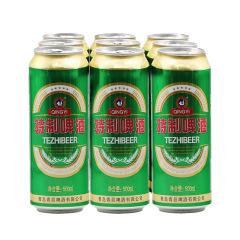 青岛青邑特制啤酒 500ml*9 (买一组送一组)