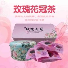贵州深山玫瑰鲜花茶花冠茶纯天然美容养颜舒缓压力