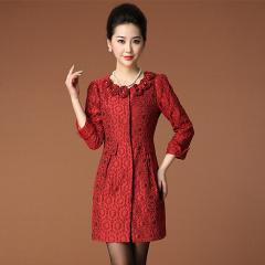 瑅艾女士长袖时尚大气显瘦外套 CBM1855(2色可选)