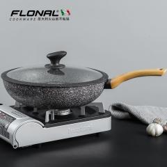 FLONAL/弗罗纳珐琅火山岩三代炒锅全新升级款明火燃气灶适用
