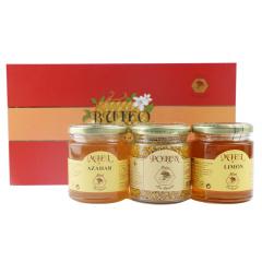 西班牙原装进口布罗家族精装礼盒橙花+柠檬+蜂花粉三瓶装