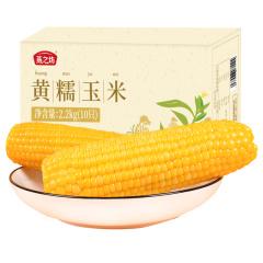 燕之坊 黄糯玉米棒10根真空鲜食粘玉米早餐甜糯玉米2.2kg